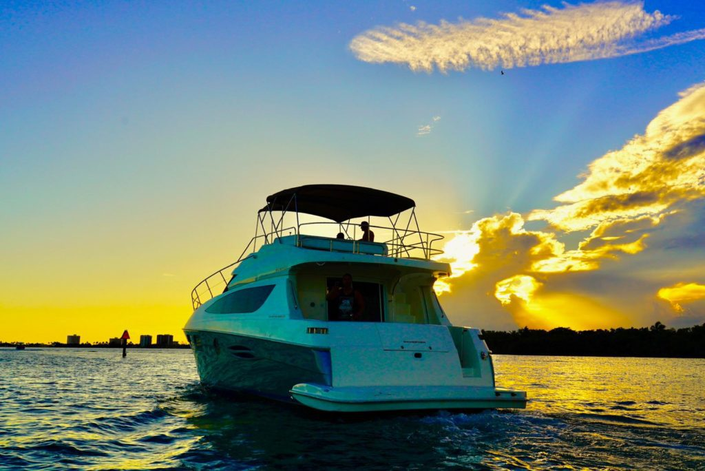 boat rental with Captain
